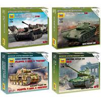 "ZVEZDA Model Kits ""Soviet & German Tanks, Armored forces 1943-45 WWII"""
