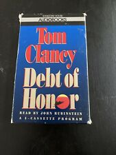 DEBT OF HONOR  Audio Book Tom Clancy 4 Cassettes