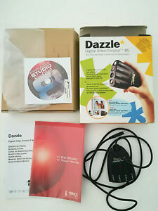 Dazzle - digital Video Creator, Connector to Camcorders, PC-CD-ROM, OVP