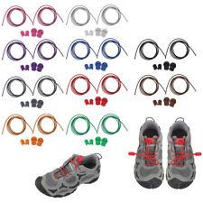 Keine Krawatte Elastic Lock Lace Schnürsenkel Magnetic Sneakers Schnürsenke R7L4