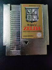 The Legend Of Zelda NES Gold Cartridge Only - Version Española
