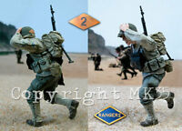 1/35 Scale WW2 US Ranger of the 2nd Battalion - Normandy 1944