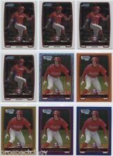 Lot of (415) Brian Pointer 2012 Bowman Chrome Prospect RC Cards - Phillies OF
