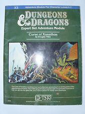 Advanced Dungeons & Dragons Curse of Xanathon Module 9056 X3 TSR AD&D 1982 Book