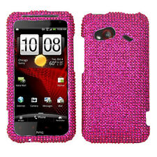 HTC Droid Incredible 4G LTE Crystal Diamond BLING Case Phone Cover Hot Pink