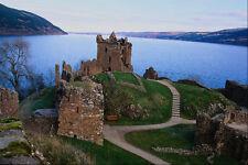 691030 Urquhart Castle Loch Ness Scotland A4 Photo Print