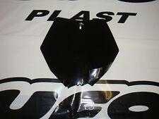 UFO KTM SX 85 FRONT NUMBER PLATE 2013 - ON 4041 BLACK