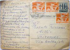 1956 Cartolina Postale Intero HELVETIA 10+3x5 Svizzera