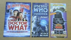 Doctor Who: Exhibition Flyers