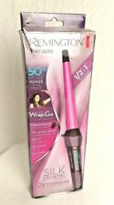 "Remington T Studio Curling Iron .5 "" to 1"" Barrel 410 Degrees. Silk Ceramic 2x T"