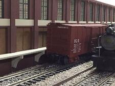 "O Scale Union Pacific Trackside Warehouse Shadow Box 2-Piece Set 24"" Long"