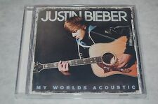 My Worlds Acoustic 2011 by Justin Bieber Audio CD