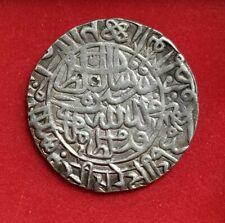 Sultans of Delhi Huge Rare Silver Rupee of Sher Shah Suri ,1538-1545 AD RARE.SD
