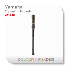 Yamaha Sopranino Recorder YRN-22B - High Key Baroque Fingering School Clarinet