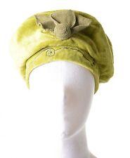 Berretto LEVATI Cappello UNITAMENTE con Paillettes & fiore verde