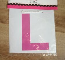 Hen Nite 'L' Plate | Hen Party | Bride To Be Party Night Accessories