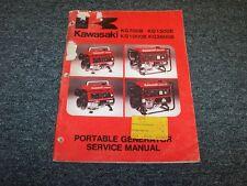 Kawasaki KG700B KG1500B KG1000B KG2600B Portable Generator Service Repair Manual