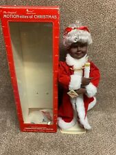 Telco Motion-ettes Of Christmas Mrs .Claus Christmas 1990 African American