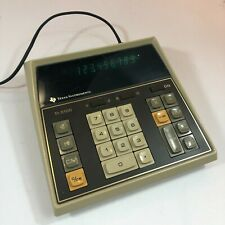 Vintage Texas Instruments Electronic Calculator Model Ti-5100 Tested & Working