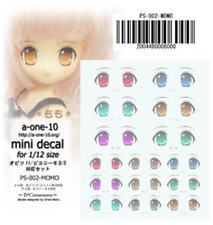 Azone Eye Decal Sticker 05 for Obitsu , pureneemo, dollfie 1/12 body japan dolls