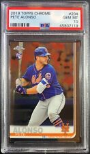 Pete Alonso 2019 Topps Chrome RC Rookie #204 PSA 10 Gem Mint! Qty!