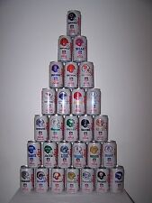 Diet Coca-Cola 1992 NFL Collector Series - Complete 28 Can Set - Very Good #1