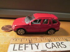 MOTORMAX RED BMW X5 SCALE 1/64 - LOOSE! NO BOX!