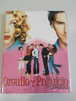Orgullo y Prejuicio la Pelicula edicion Coleccionista DVD + LIBRO Nuevo
