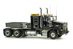 WSI 34-2002 Kenworth C500B Heavy Tractor w/Ballast Box - Black Die-cast 1/50 MIB