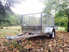 Paxton 8x5 Caged Cage Galvanised Steel Car Multi Purpose Utility Car Trailer