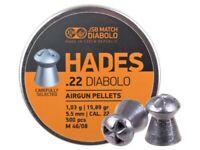 JSB Hades M 46/08 5.5 mm .22 cal. 1.03g 15.89gr 500 pcs AIRGUN PELLETS AIR RIFLE