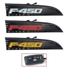 Recon 264482BK Illuminated Side Fender Emblem For 11-16 Ford F-450 Superduty