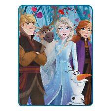 """Disney's Frozen 2 Elsa Anna Throw Blanket Warm Soft Super Throw 46"""" x 60''"""