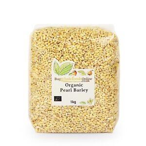Organic Pearl Barley 1kg   Buy Whole Foods Online   Free UK Mainland P&P
