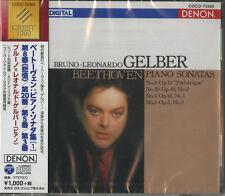 BRUNO-LEONARDO GELBER-BEETHOVEN: PIANO SONATAS NO.8 & 20 & 5 & 3-JAPAN CD B63