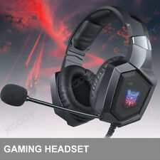 Onikuma Stereo Gaming Headset for PC New Xbox One PS4 Headphones Over Ear Black