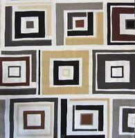 "23"" x 44"" panel cotton quilt fabric Dwellings Benartex Home Decor retro Sewing"