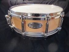 Pearl Free Floating All Maple Snare Drum, 14 x 5, 10 Lugs, Die Cast Hoops, Nice!