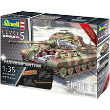 Revell Tiger II Ausf. B Tank Platinum Edition Model Kit (Scale 1:35) - 03275