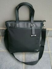 LIKE NEW BMW MESSENGER/TRAVEL IN STYLE /TOTE LARGE BLACK BAG.