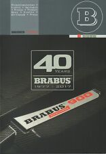Brabus Mercedes-Benz TUNING CAR RANGE & History _ AIA Francoforte 2017 brochure