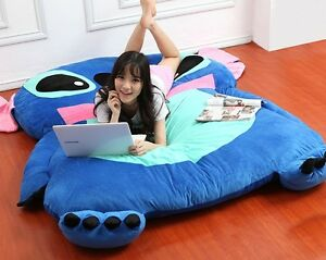 Cartoon Stitch Tatami Sofa Filled Bed Carpet Beanbag Mattress Can Unpick Wash