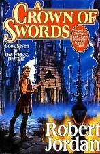 Wheel of Time: A CROWN OF SWORDS by Robert Jordan (Hardcover, 1st/1st LN, 1996)