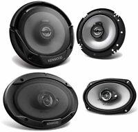 "2) Kenwood KFC-6966S 6x9"" 800 Watt + 2) 6.5"" 600 Watt Car Audio Coaxial Speakers"