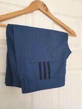 Mens Adidas Climalite Tailored Golf Shorts Size Waist 34 3 Stripe