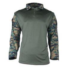 Tactical Hemd Warrior Combat Shirt Einsatzshirt digital-woodland