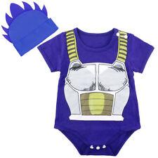 Bebé Niño Dragon Ball Z Disfraz conjunto Infantil Vegeta body camiseta Ropa