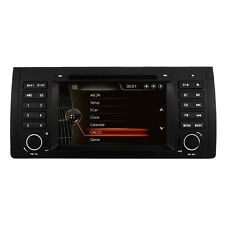 "7"" BMW E39 X5 E53 M5 E38 5 Series Car Radio DVD CD Player Stereo GPS Navigation"