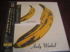 VELVET UNDERGROUND & NICO JAPAN 200 GRAM PEEL BANANA COVER RARE LP+JAPAN OBI CD