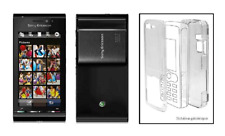Coque Cristal Transparente Protection Rigide ~ Sony Ericsson Satio / idou (U1i)